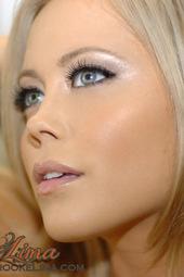 Brooke Lima In White Lingerie