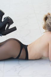 Candice Brielle In Black