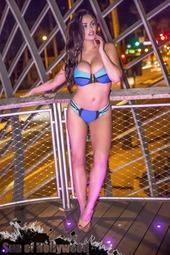 Abigail Ratchford Posing In Bikini
