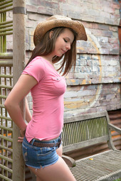 Zoey Lee In Cowgirl Set