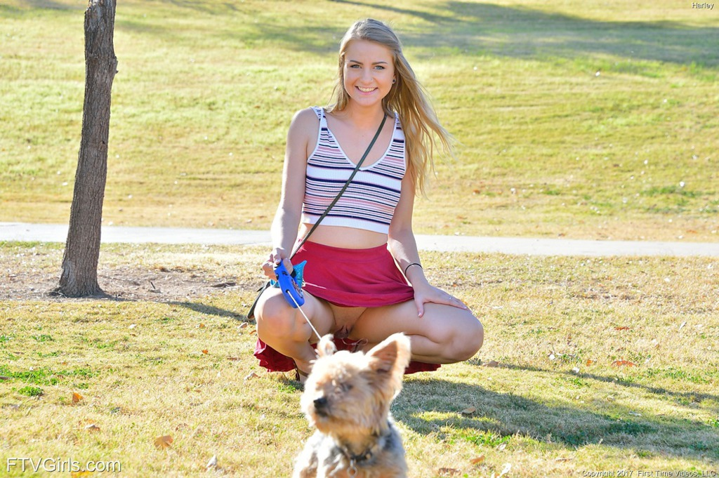 Harley In Kinky At The Park 01