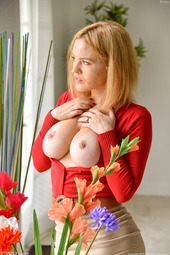Krissy Reveals Her Perfect Breasts