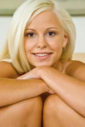 Erotic Blonde Girl Lola