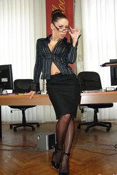 Mya Diamond Naughty In The Office