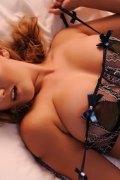 Jodie Gasson Removes Her Lingerie
