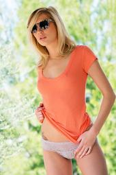 Beautiful Blond Girl Hayden Hawkens Sexy Pussy Pictures