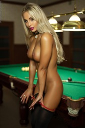 Maria In Billiard Balls 2