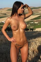 Justyna In Fields Of Fire