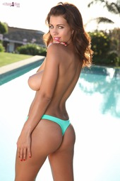 Holly Peers By The Pool