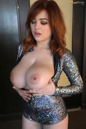 Tessa Fowler In Sparkle Jumpsuit