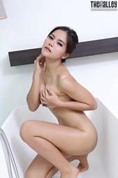 Veevie In The Bathroom