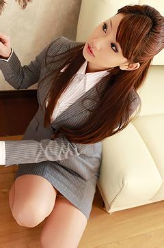 Beauty Asian Secretary