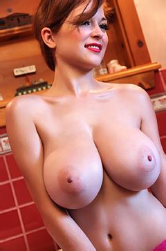 Tessa Fowler Stripping In The Bathroom