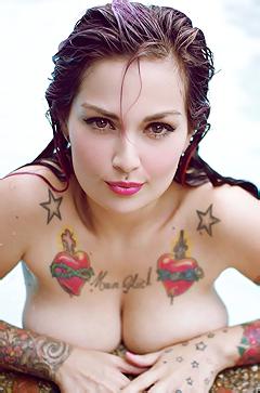 Tattooed Fernanda