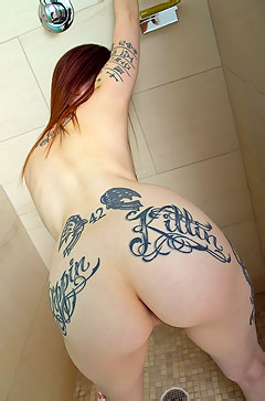 Tattooed Amateur Girl Indigo