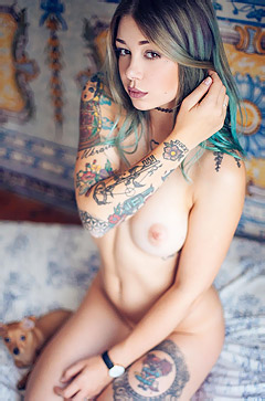 Dream Tattooed Teen