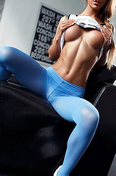 Blue Pantyhose