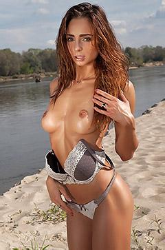 Rebecca In Along The River