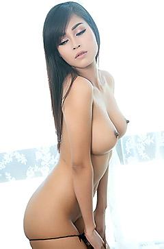 Brunette Asian Charlotte