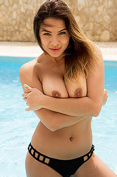 Lacey Banghard In The Pool