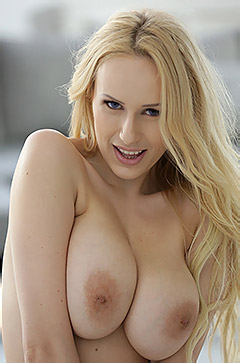 Busty Blonde Angel Wicky