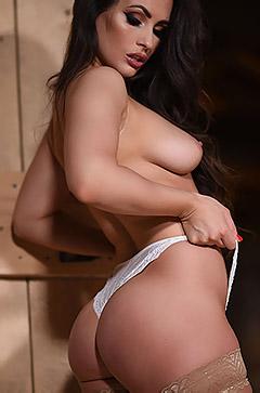 Anastasia Looks Hot In Stockings