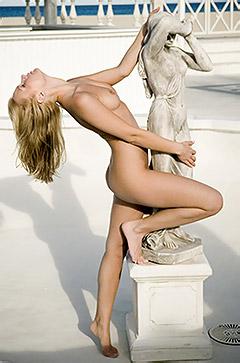 Michelle Like A Statue