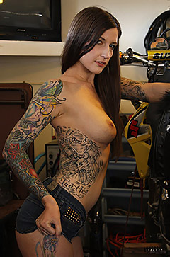 Sylvia Biker Babe