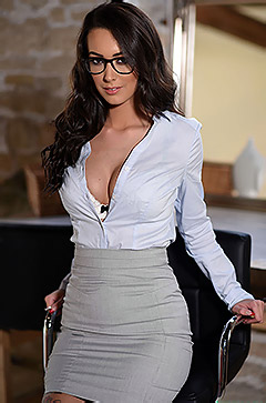 Sexy Secretary Lauren Louise