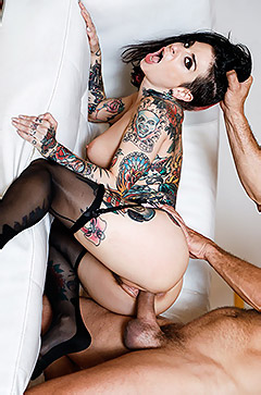 Joanna Angel In Cum On My Tattoo