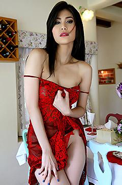 Flawless Asian Natalie Wang