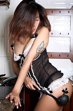 Sexy Asian Maid