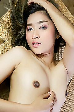 Sweet Asian Girl Apple