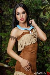 Apolonia Lapiedra In Pocahontas